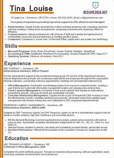 resume styles and exles 2016 administrative assistant resume sles 2016 choose it