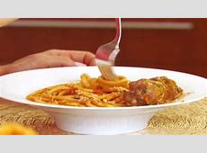 veal and sage meatballs and pasta with gorgonzola walnut sauce_image