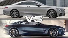 mercedes 8 coupe 2018 mercedes s class coupe vs 2018 bmw 8 series concept