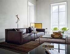 Braunes Sofa Kombinieren - braunes ledersofa bilder ideen