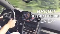 tablet für auto brodit mini kfz halterung test review