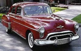 1950 Oldsmobile 88 Deluxe Maintenance/restoration Of Old