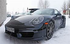 2015 Porsche 911 Turbo Facelift Shows A New Steering Wheel