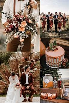 Terracotta Copper Fall Wedding Colors
