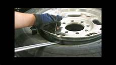 Replacing A Leaky Tire Valve Stem