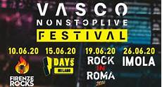 vasco firenze vasco annuncia il nonstoplive festival lascimmiapensa