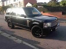 range rover vogue black 2004 lpg converted 1 prev owner
