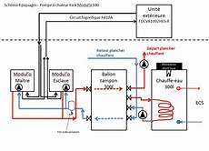 Montage Pompe A Chaleur Choix Entre Montage Hydraulique 2 Piquages Ou 4 Piquages