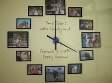 large family style wall clock crafts
