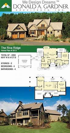 riva ridge house plan the riva ridge house plan 5013 in 2020 craftsman house
