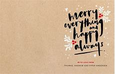 merry everything happy always dp christmas cards