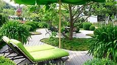 Garten Verschönern Ohne Geld - holzterrassen ebenerdig verlegen