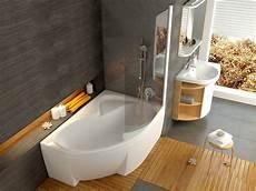 Raumspar Badewanne Mit Dusche - raumspar wanne 150 x 105 cm sch 252 rze wei 223 badezimmer