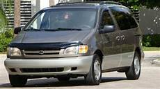 car owners manuals for sale 1999 toyota sienna parking system find used 1999 toyota sienna xle premium mini van one florida owner selling no reserve in