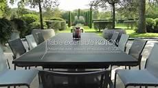 Extérieur Haut De Gamme Table Extensible Koton Les Jardins 169 Tables De Jardin