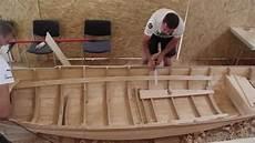 Bau Eines Traditionellen Lotca Bootes Auf Dem Donaufest