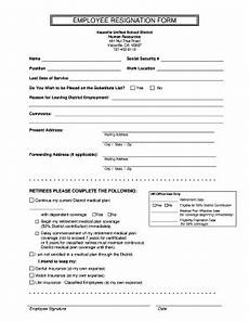 resignation form fill online printable fillable blank pdffiller