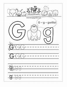 worksheets letter g kindergarten 24214 free handwriting worksheets for the alphabet