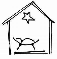 kostenlose malvorlage weihnachten krippe zum ausmalen