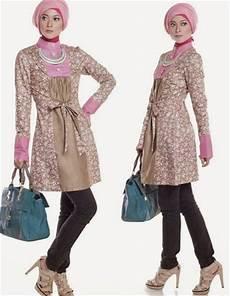 11 Gambar Model Baju Muslim Gaul Masa Kini 2019