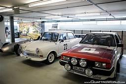 Audi Tradition QuattroWorld Visits Audis Hidden Museum