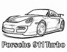 Porsche Zum Ausmalen - porsche 911 coloring pages