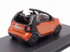 modellauto smart fortwo cabrio 2015 orange schwarz