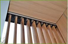 Schiebeläden Selber Bauen - vertikal lamellen holz vertikale sonnenschutzlamellen aus