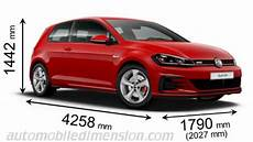 Volkswagen Golf Gti 2017 Dimensions Boot Space And Interior