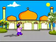 20 Gambar Masjid Dalam Kartun Gambar Kartun Mu