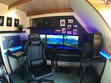 Gaming Zimmer Deko - 35 setup de gaming epic pour les gamer sur pc geekqc ca