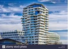 Hamburg Marco Polo Tower - marco polo tower in the harbour city of hamburg germany