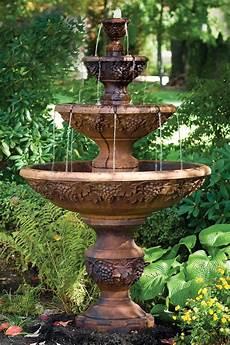 78 quot four tier sonoma massarelli s garden fountains outdoor garden fountains
