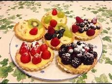 Crostatine Golose Alla Frutta Youtube | crostatine di frutta intheskywithcupcakes youtube