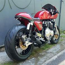 Modif Cafe Racer by Motor Custom Modifikasi Cafe Racer Honda Cb400 Sf Cb400