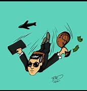 Image result for image cartoon db cooper jumping