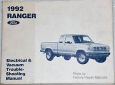 free auto repair manuals 1990 ford ranger electronic toll collection 1992 ford ranger pickup electrical vacuum troubleshooting manual factory repair manuals