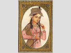 Emperor Shah Jahan Empress Mumtaz Mahal Rare Mughal