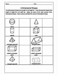 3 dimensional shapes activity worksheets by come learn with me