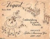 Embroidery Patterns  Vintage Transfers EBay