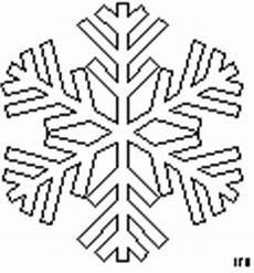 klassische schneeflocke ausmalbild malvorlage jahreszeiten