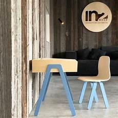 bureau et chaise junior 7 10 ans bleu in2wood pour