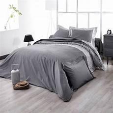 drap housse satin de coton drap housse satin de coton 160 cm wesley noir linge de lit eminza