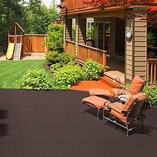 Bodenbelag Terrasse Kunststoff - outdoor rubber rooftop and deck tile nutek flooring
