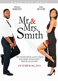 Mr And Mrs Smith Wedding Invitations