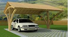 garage 2 places garage en bois
