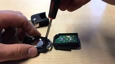 Skoda Schlüssel Batterie Wechseln - how to vw sharan golf 5 4 polo 9n schl 252 sselbatterie