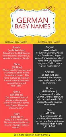 18 german baby names care