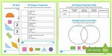 2d shapes worksheets reception 1254 properties of 2d shapes worksheets made