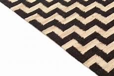 Teppich 300 X 400 - rug 300 x 400 cm jute cabana beige black